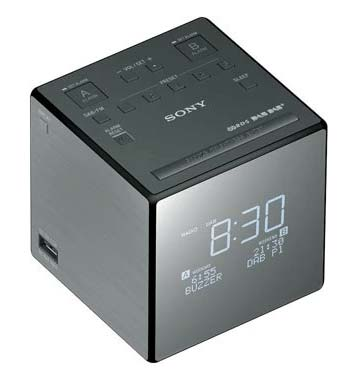 Sony XDR-C1DBP väckarklocka