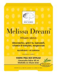 New nordic melissa dream 60 tabletter
