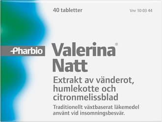 Valerina Natt filmdragerad tablett